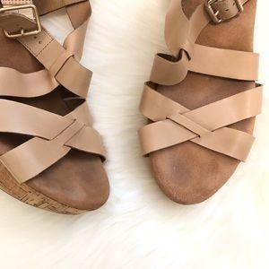 Clarks Shoes - Clarks Artisan Cork Wedges size 11